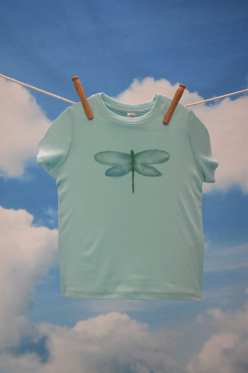 Toddler T-Shirt ~ Dragonfly on Chill