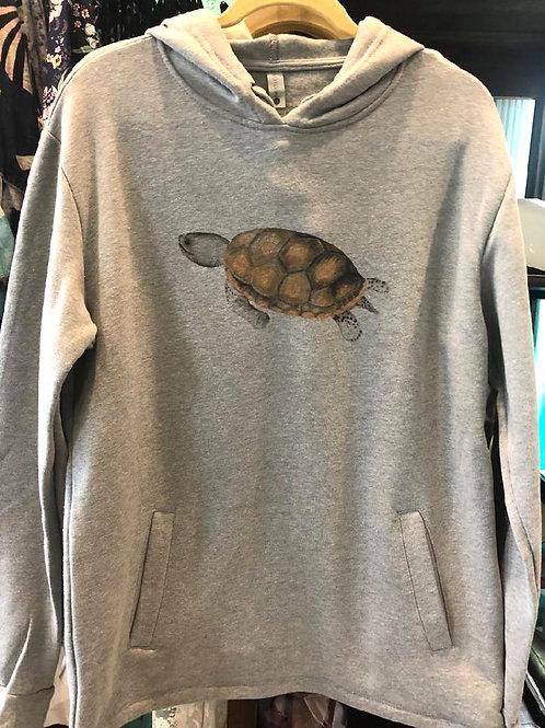 Ladies' Pullover Hoody Sweatshirt