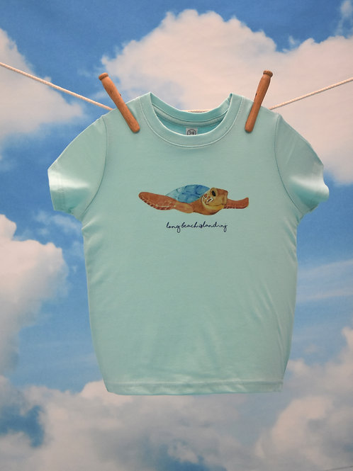 Toddler T-Shirt ~ Sea Turtle on Chill