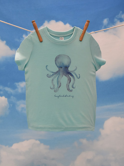 Toddler T-Shirt ~ Octopus on Chill