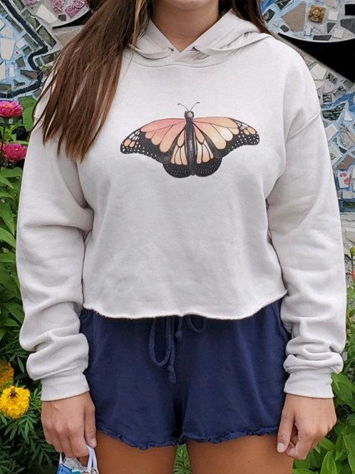 Crop Monarch Sweatshirt