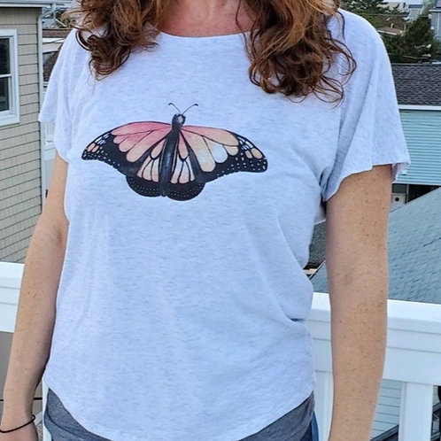 Ladies' Triblend Dolman T-Shirt
