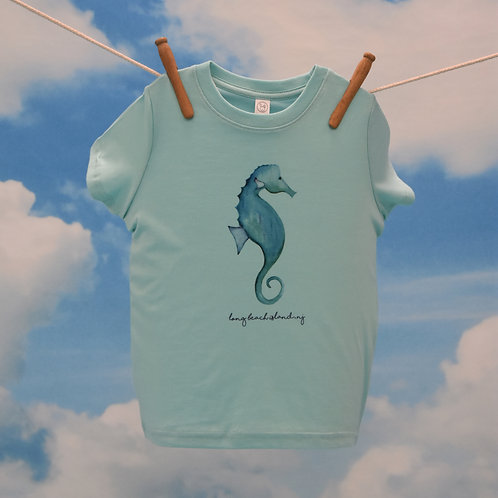 Toddler T-Shirt ~Seahorse on Chill