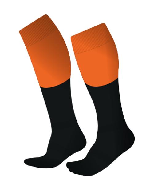 Playing Socks - Orange (Home)