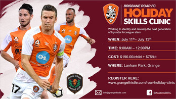 Brisbane Roar Camp