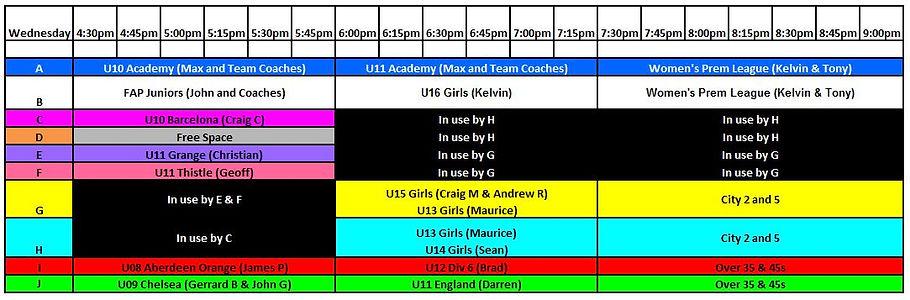 20200723 Wednesday Training Schedule.JPG