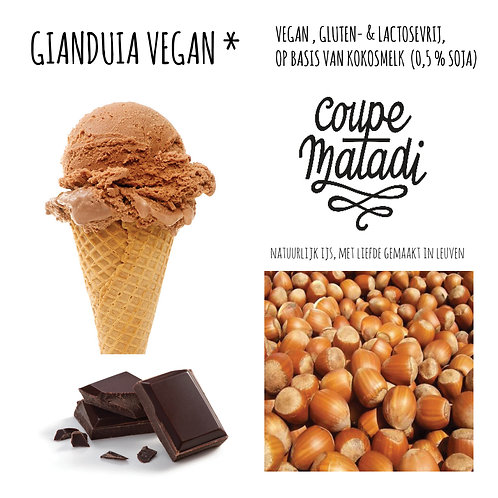 "1 L GIANDUIA ""vegan"""