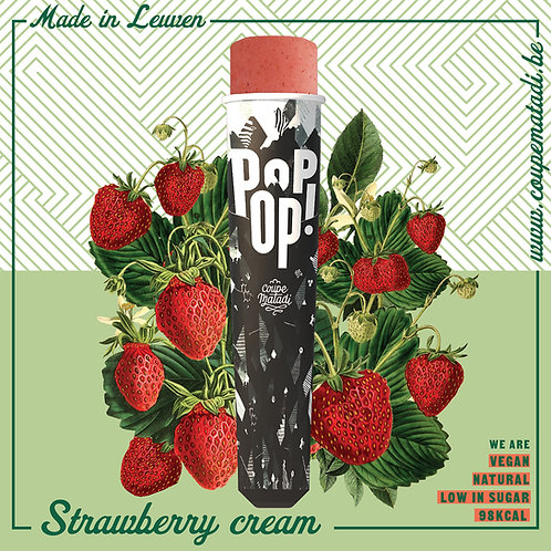 "10 x POPOP  ""strawberry Cream"""
