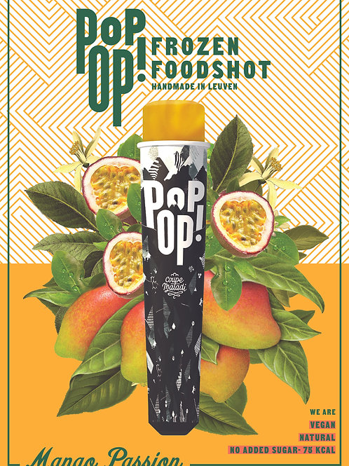 "10 x POPOP  ""mango passion sugarfree"""