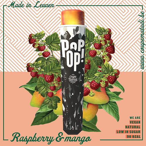 """10 x POPOP  """"Raspberry & mango"""""""
