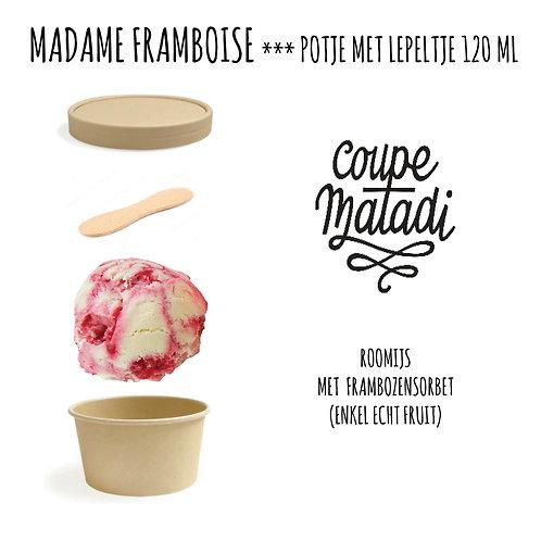 10 potjes MADAME FRAMBOISE