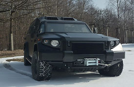 Kombat T-98 Military and police armored vehicles
