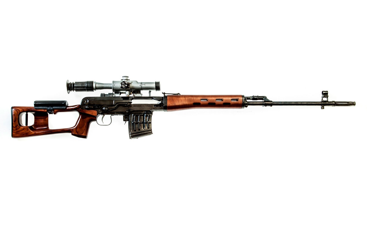 Dragunov sniper rifle SVD