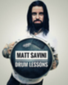 Matt Savini local drum teacher Kent, Sidcup, Bexley, Dartford, Chislehurst