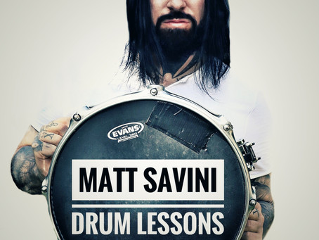 Matt Savini Drum Teacher First Blog!