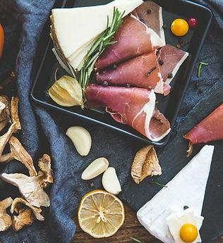 Kød og ost