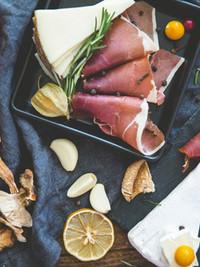 Hams and cheeses...