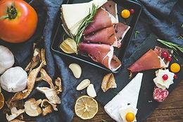 Fleisch und Käse