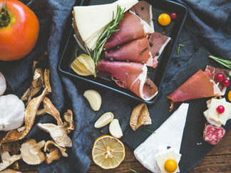 肉とチーズ