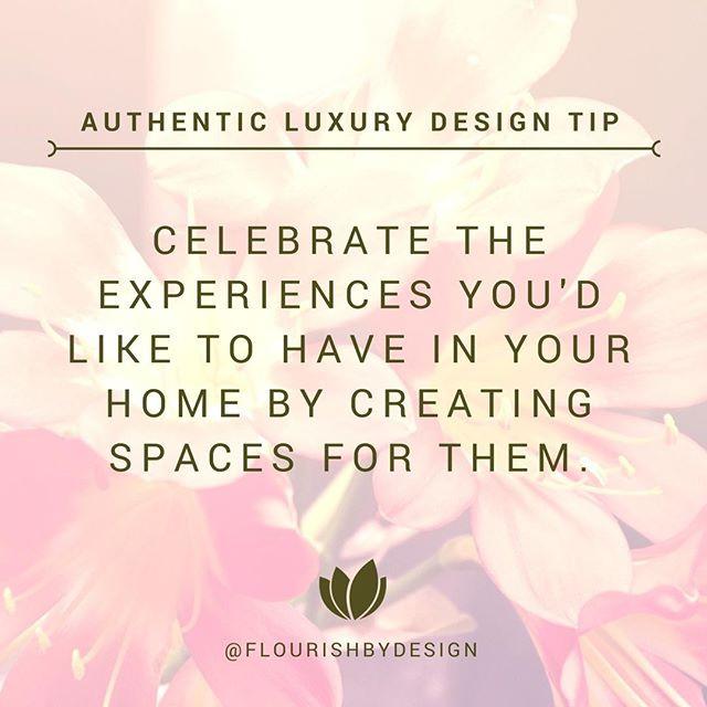 Authentic Luxury Design Tip