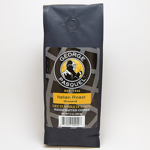 Pasquel Italian Roast Coffee Ground - 12oz