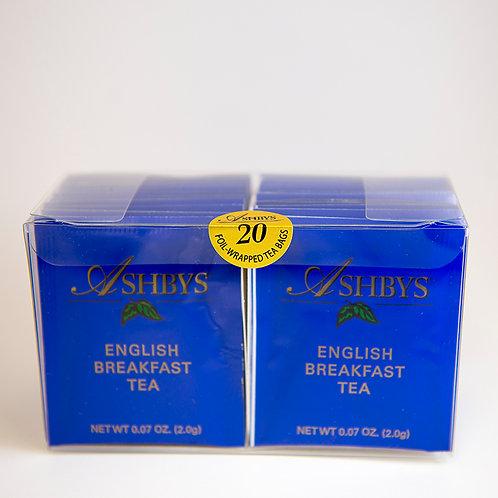 Ashbys English Breakfast Tea - 20ct