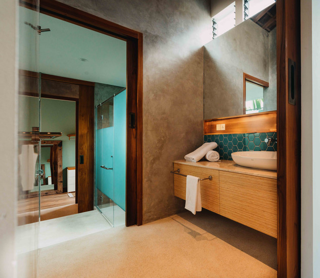 Bedroom 2 private sink area