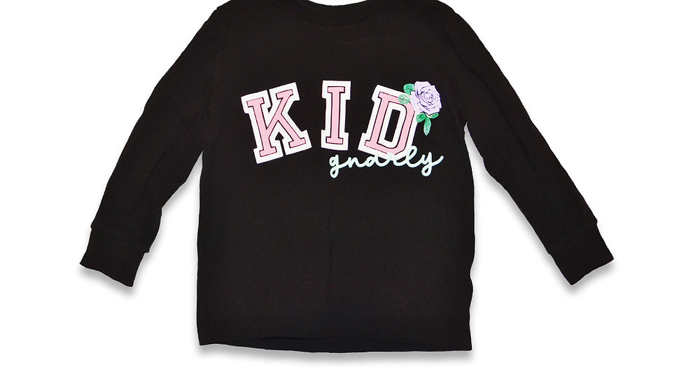 Kid Gnarly - Casual Rose Long sleeve tee