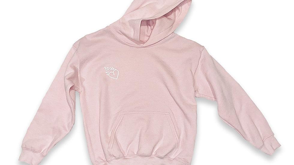 Kid Gnarly - Pink Hoodie