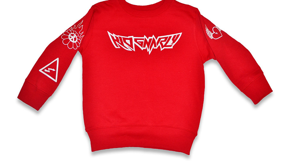 Kid Gnarly - Logo long sleeve sweater