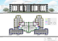 3176 102 Proposed Elevation to Cricket Pitch and Upper Floor Plans LOW RES