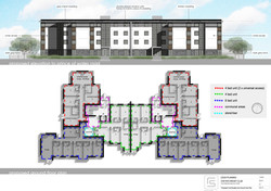3176 101 Proposed Front Elevation and Ground Floor Plan LOW RES