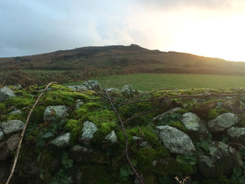 Pendeen Cairn at the back of both accommodations