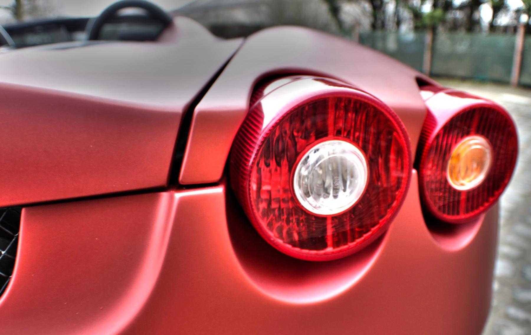 Matte Red Ferrari