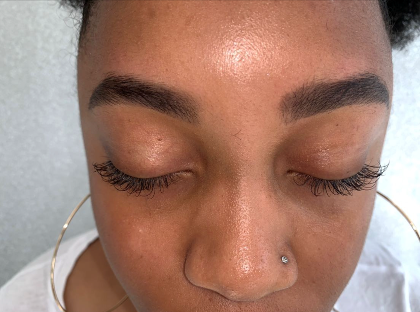 Combination of Classic Individual lashes