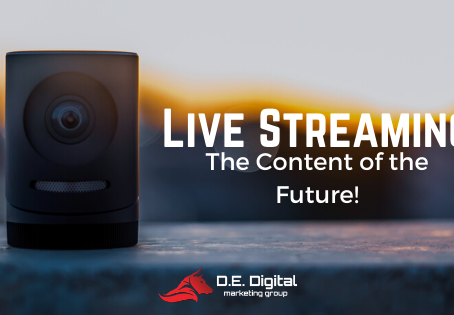 Live Streaming. The Content of the Future!