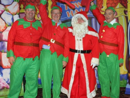 Coventry Freemasons become Santa's little helpers!