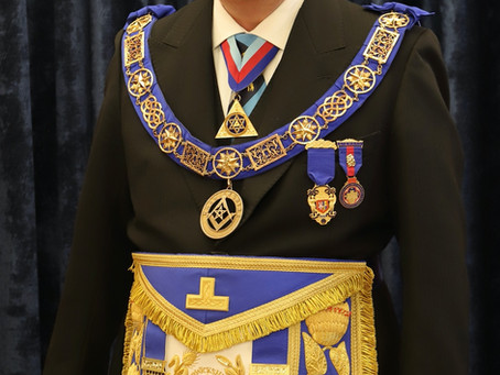Appointment of the new Provincial Grand Master