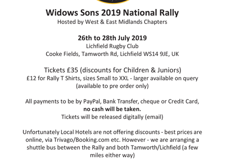 Widows Sons 2019 National Rally