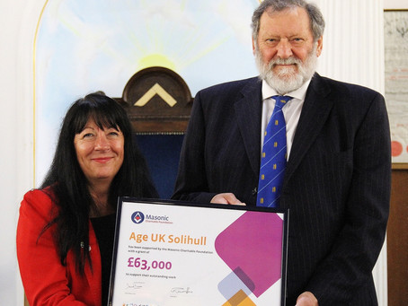The Partnership Between Knowle Masonic Centre and Age UK Solihull