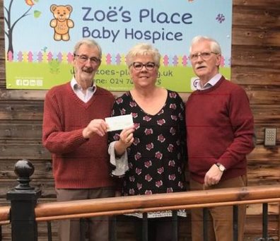 Abbey Lodge supports Zoe's Place