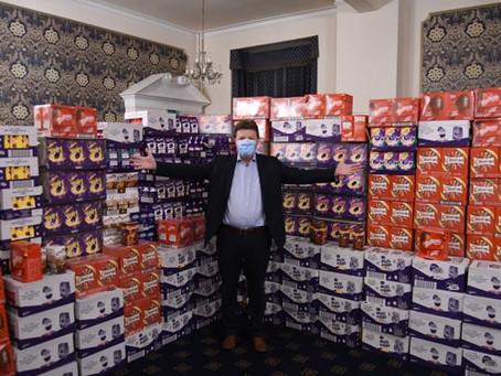 Easter Eggs for Homeless Children Appeal