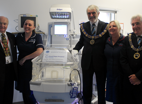 Two new incubators for Good Hope Hospital and Heartlands Hospital