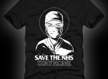 Supporting the NHS - one t-shirt at a time
