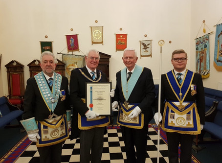 50 years with Boldmere Lodge – W Bro David Tadd, PProvJGW