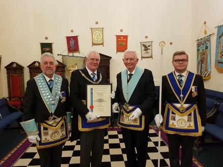 50 years with Boldmere Lodge – W Bro David Tadd, PProvJGW