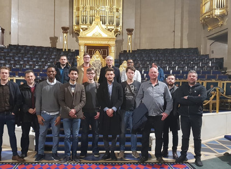 Comradery amongst travel chaos - Reflections from our trip to Freemasons Hall