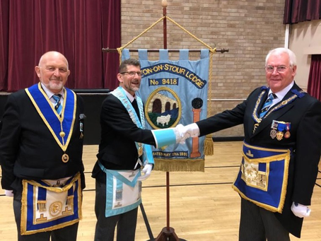 Shipston on Stour Lodge 9418 – a multi-Province Lodge