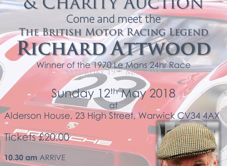 Sunday Lunch with Richard Attwood