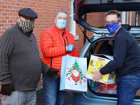 Knowle Freemasons helping to make Christmas happen for those in need